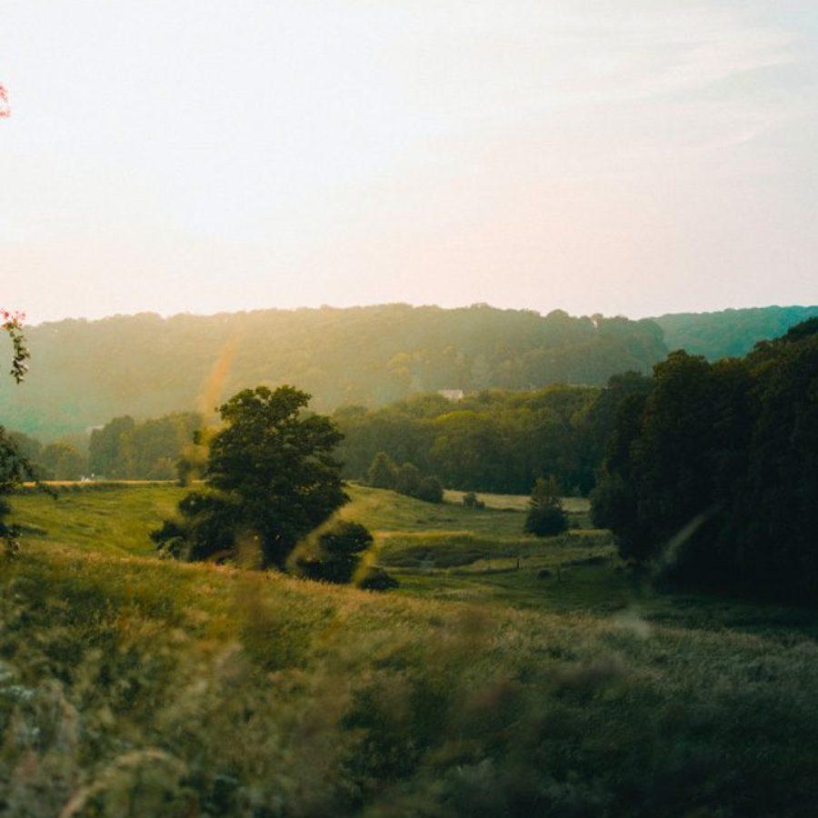 campagne normande paysage