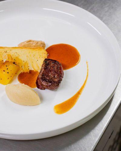 legumes plat magret cuisine