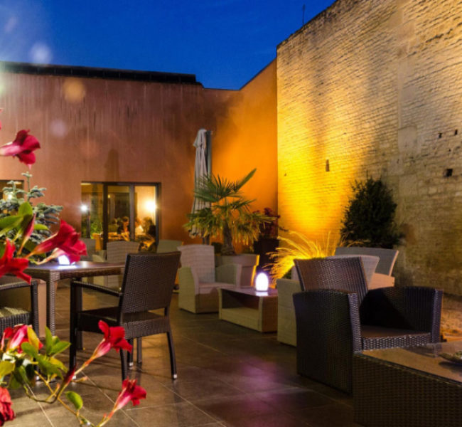 photo terrasse exterieure restaurant